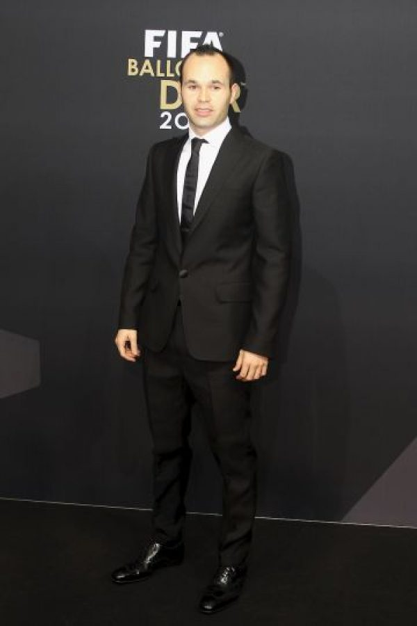 3. Andrés Iniesta. Foto:Getty Images