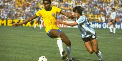 """Imagen del mismo encuentro que terminó 3-1 en favor de la """"Albiceleste"""" Foto:Getty Images"""
