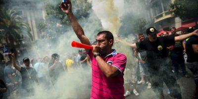 Esto después de violentas manifestaciones la semana pasada en la ciudad. Foto:Getty Images