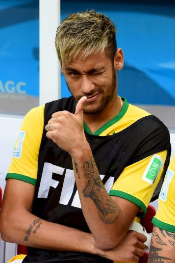 El ascenso de Neymar como estrella mundial ya atrajo la atención del PSG Foto:Getty Images