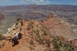 Una de ellas fue el Gran Cañón ubicado en el norte de Arizona, Estados Unidos. Foto:Getty Images