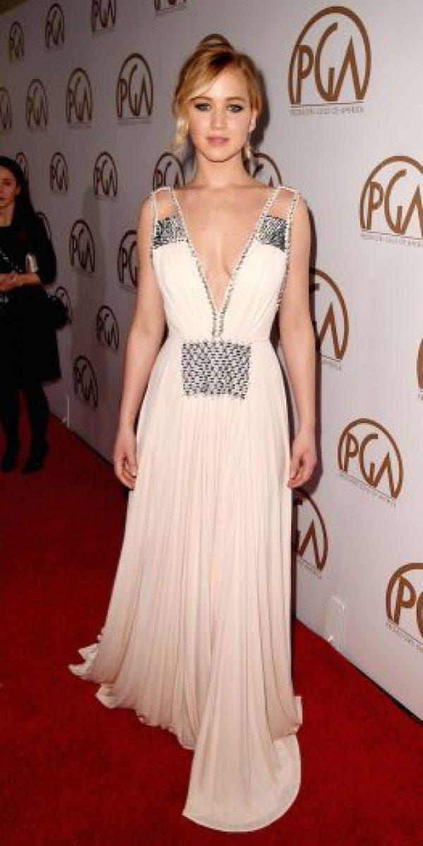 Jennifer Lawrence admitió utilizar Google para buscar fotos de ella Foto:Getty Images