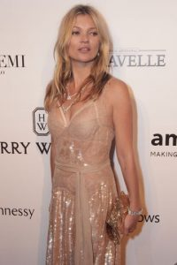 Kate Moss /4 millones 500 mil dólares Foto:Getty Images