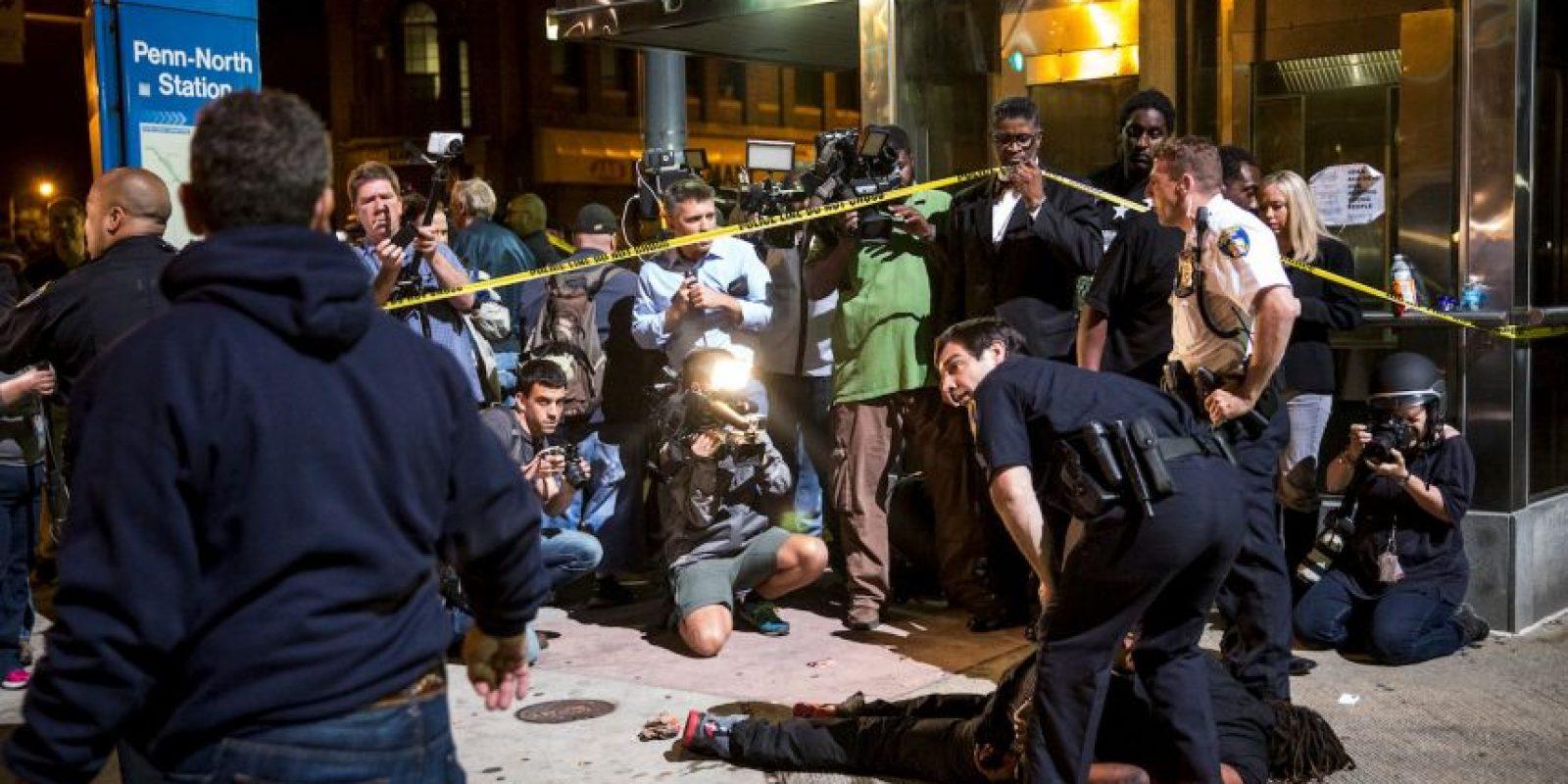 El uso de la fuerza policial ha sido tema de debate en los Estados Unidos. Foto:Getty Images