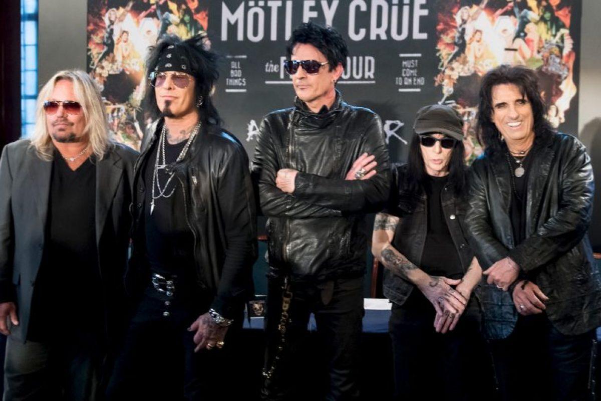 Vince Neil señaló que extrañará muchísimo los conciertos con el grupo pero que individualmente no será su fin como músico en la carrera del rock. Foto:Getty Images