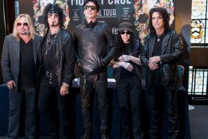 Fue iniciada en Los Ángeles por el bajista Nikki Sixx y el baterista Tommy Lee. Foto:Getty Images