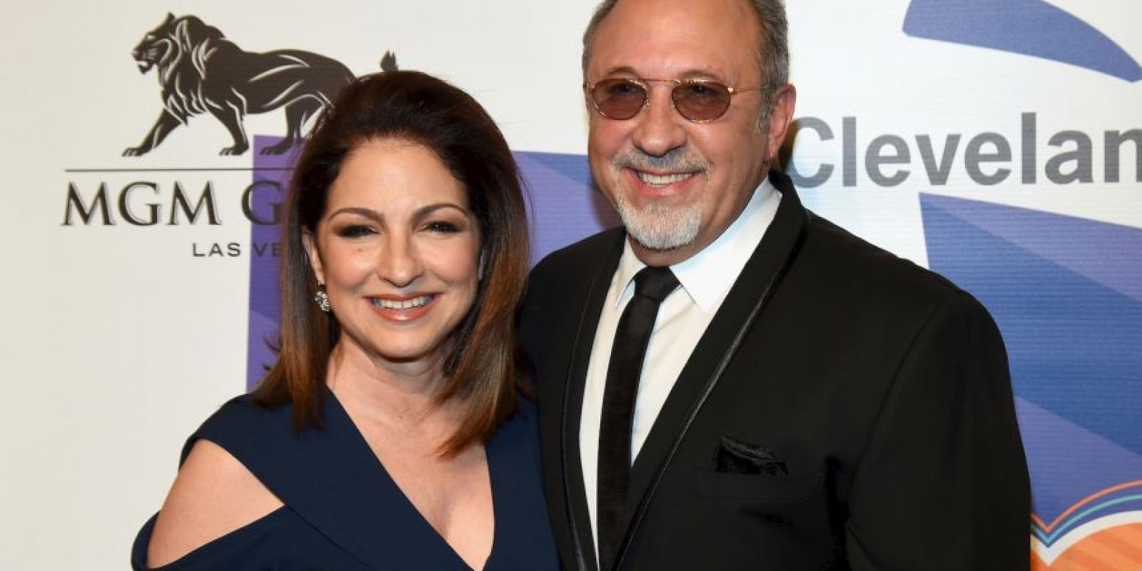 Gloria y Emilio Estefan Foto: Getty Images