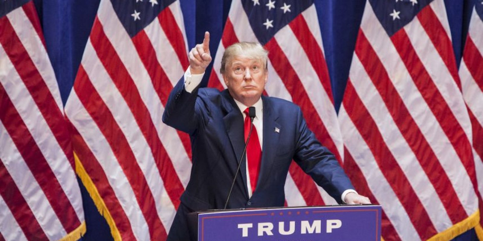 Donald Trump comenzó sus ataques hacia los latinos desde junio. Foto:Getty Images