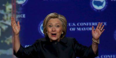 Esta es la segunda ocasión en que Clinton intentará ganar la nominación del Partido Demócrata. La primera fue en 2008. Foto:Getty Images