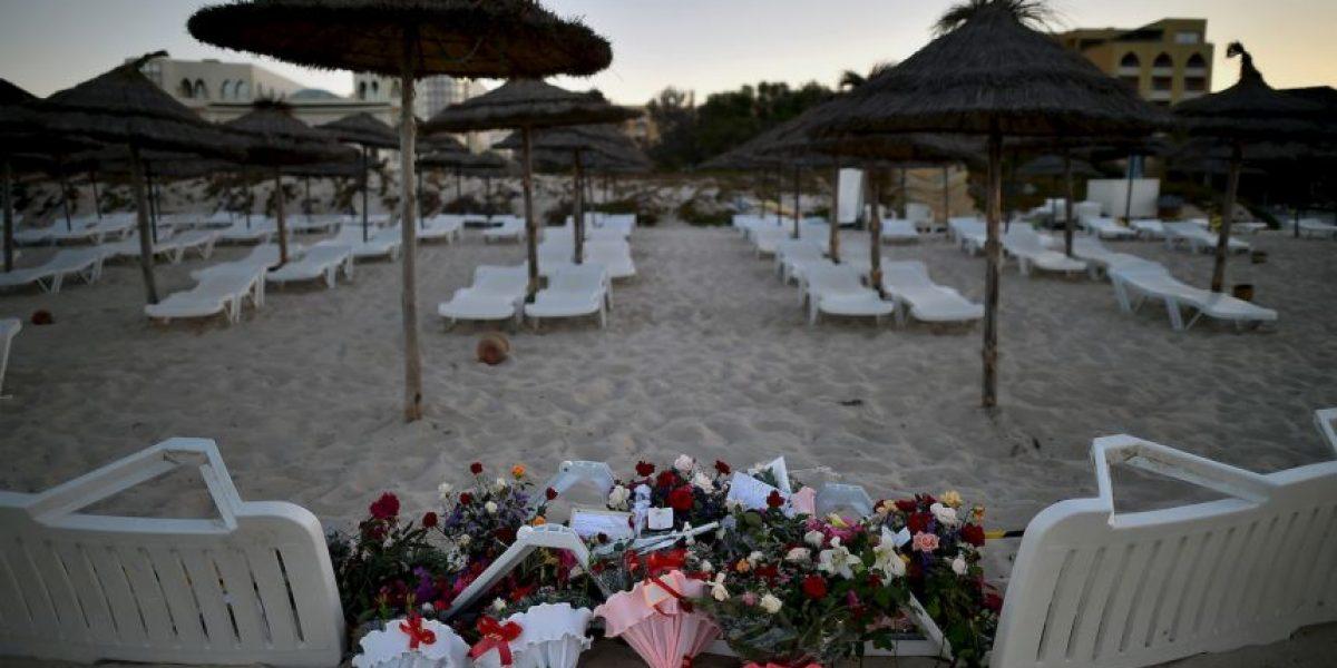 Túnez: Turistas se toman selfie en lugar de atentado terrorista