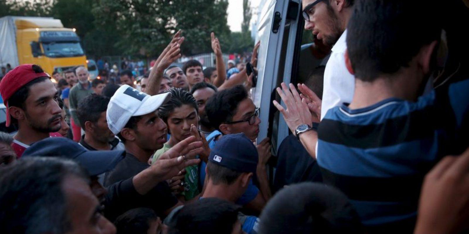 Los Estados Miembros han decidido restablecer a 120 mil refugiados. Foto:Getty Images