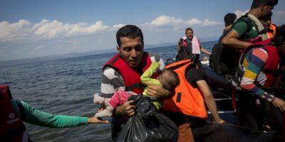 Miles de personas han llegado a Europa escapando de la violencia que se vive en Siria. Foto:Getty Images