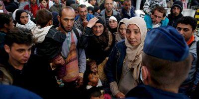 Más de 300 mil personas han llegado como refugiados a Europa, tras arriesgar sus vidas en peligrosas travesías. Foto:Getty Images