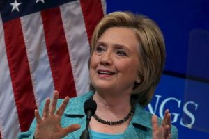 Hillary Clinton aseguró que de ganar la presidencia defenderá a Estados Unidos. Foto:Getty Images
