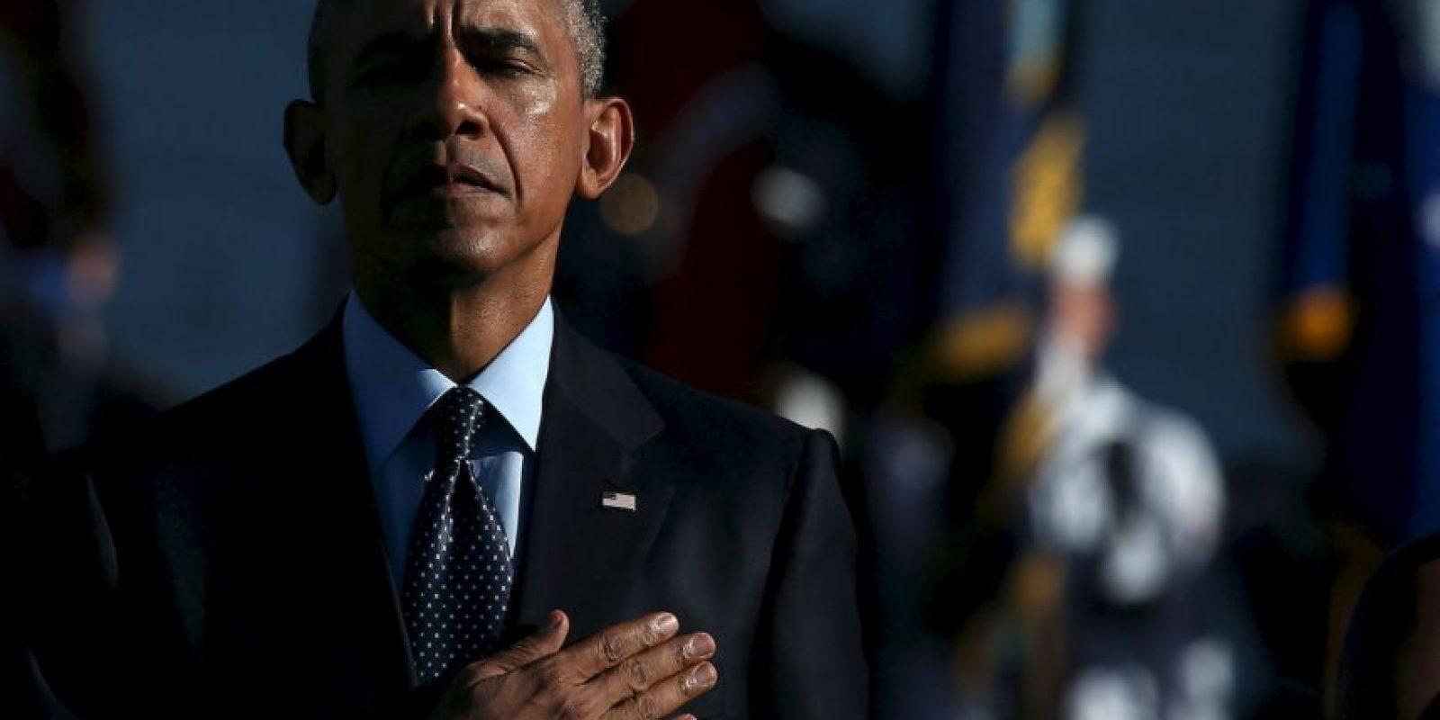 La Casa Blanca rinde homenaje a los caídos en el atentado terrorista. Foto:Getty Images