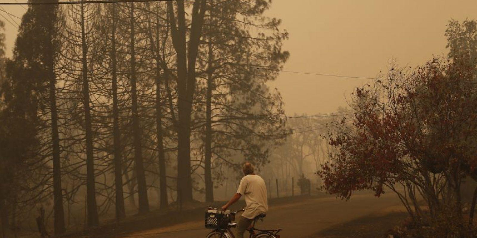 Según el medio británico BBC, el fuego se esparció por lo seca que es esa zona. Foto:Getty Images