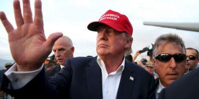 Donald Trump, empresario y primer lugar en las encuestas Foto:Getty Images