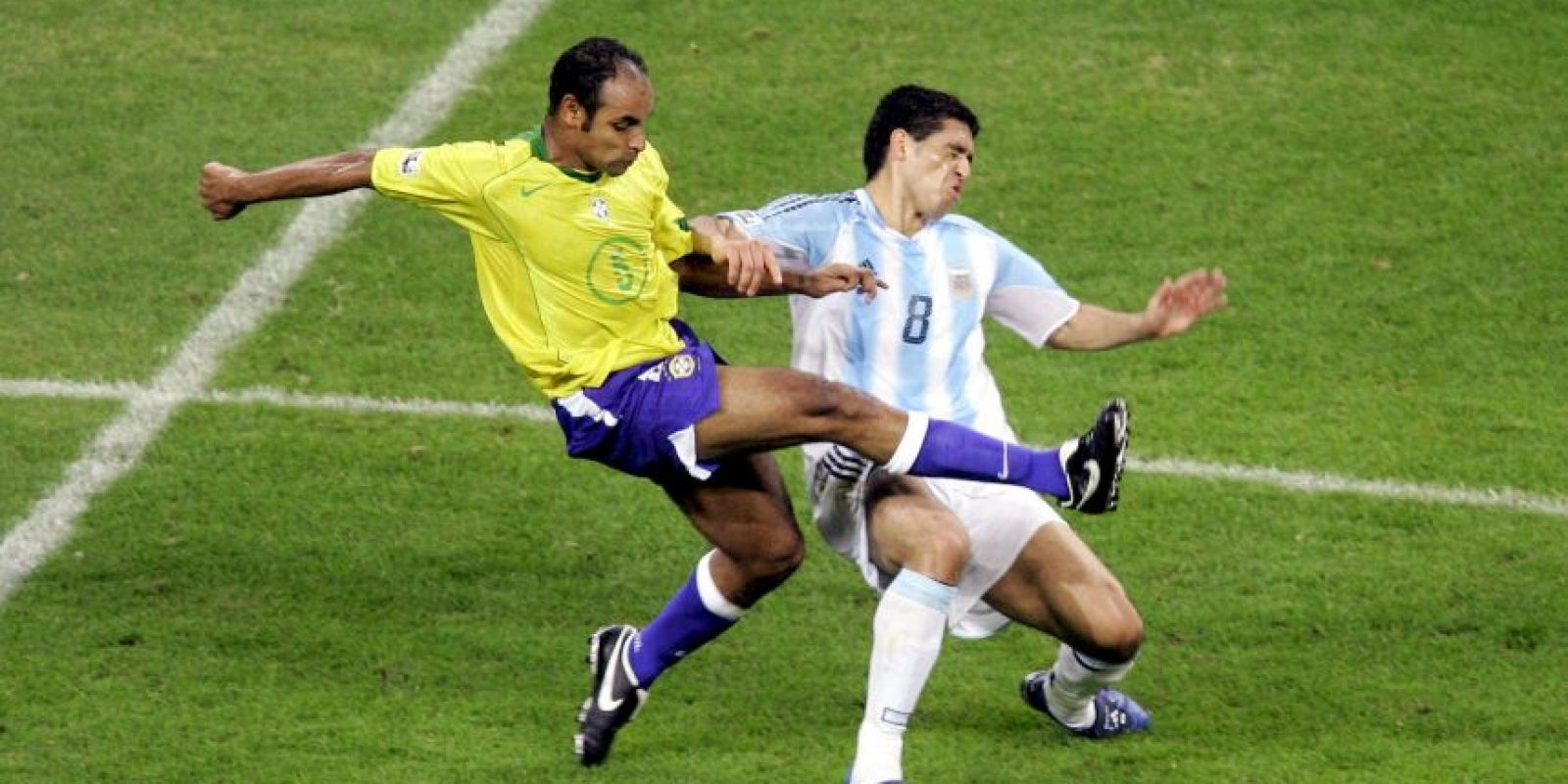 Saltamos a 2005, final de la Copa Confederaciones Foto:Getty Images