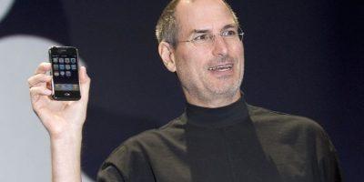 Steve Jobs presentó el primer iPhone en enero de 2007, pero salió a la venta hasta el 29 de junio. Foto:Getty Images