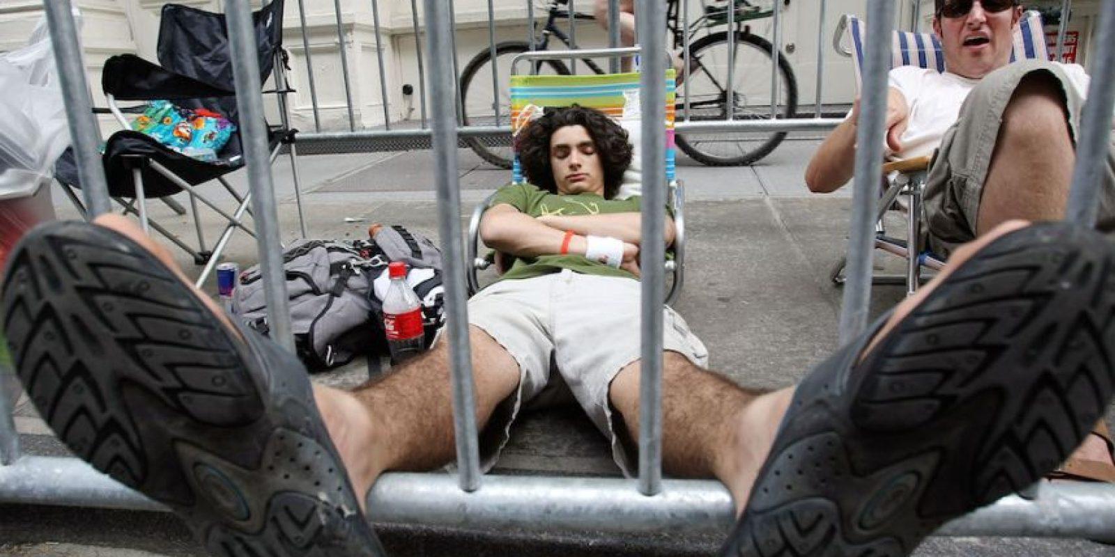 Un momento de relajación. Foto:Getty Images
