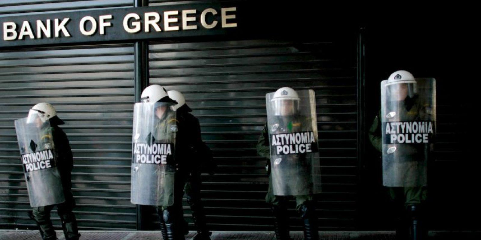 Grecia, sin acceso a los mercados financieros por la deuda, pide ayuda internacional Foto:Getty Images