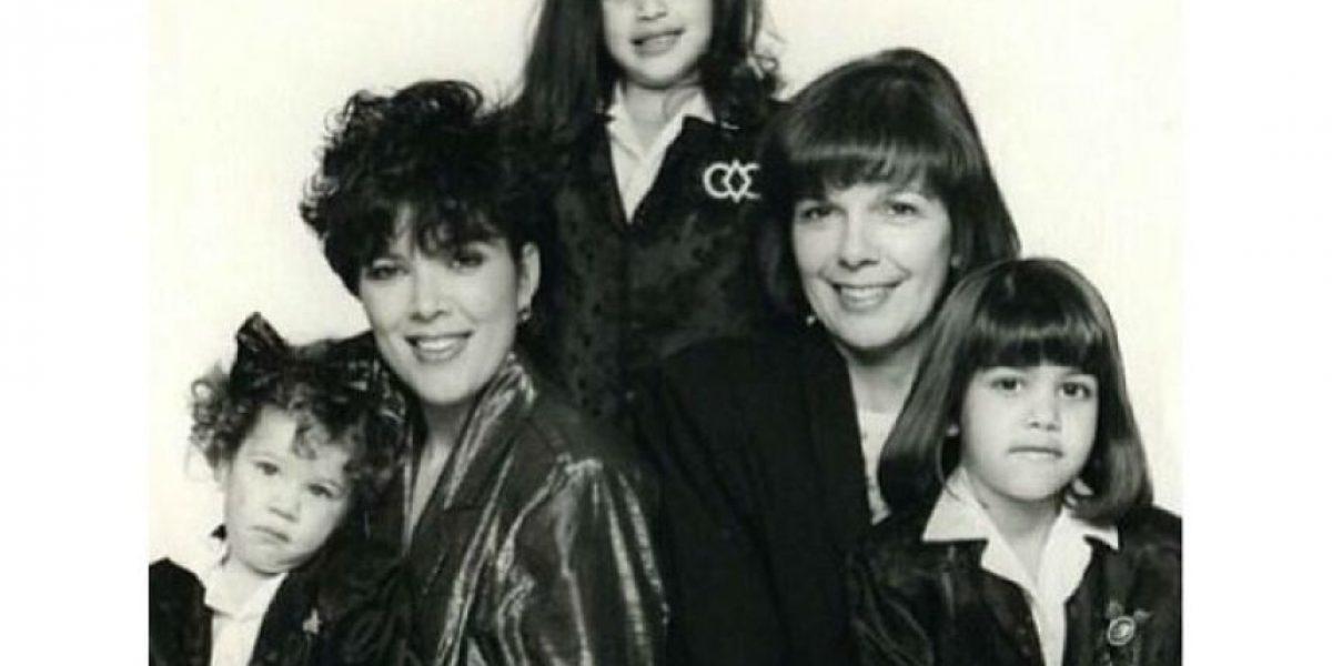 FOTOS. Mira cómo lucían las hermanas Kardashian-Jenner antes de la fama y las cirugías