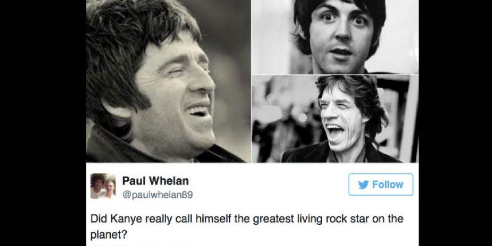 Y otros, a Mick Jagger y a Paul McCartney. Foto:vía Twittter