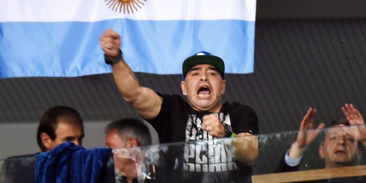 Supuesta imagen de Diego Maradona causa indignación en redes sociales