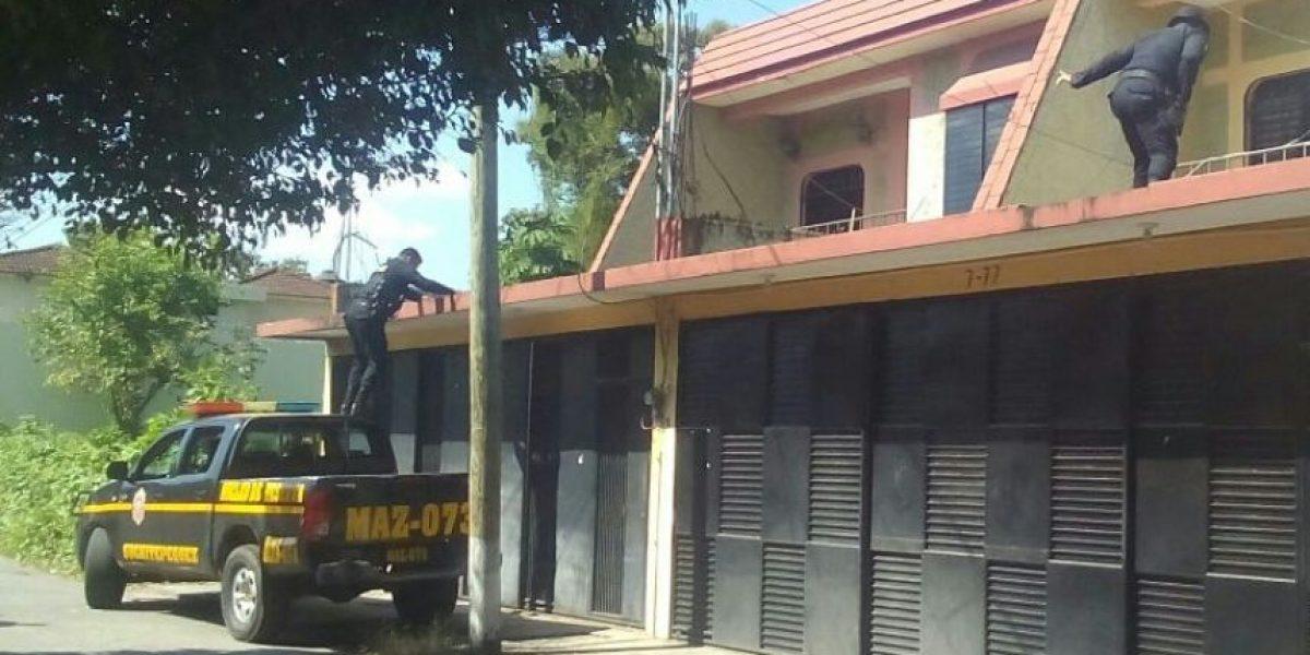 PNC libera a mujer de 77 años quien había sido secuestrada en Mazatenango