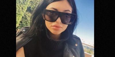 Los nuevos labios de Kylie Jenner también fueron motivo de burla. Foto:Twitter