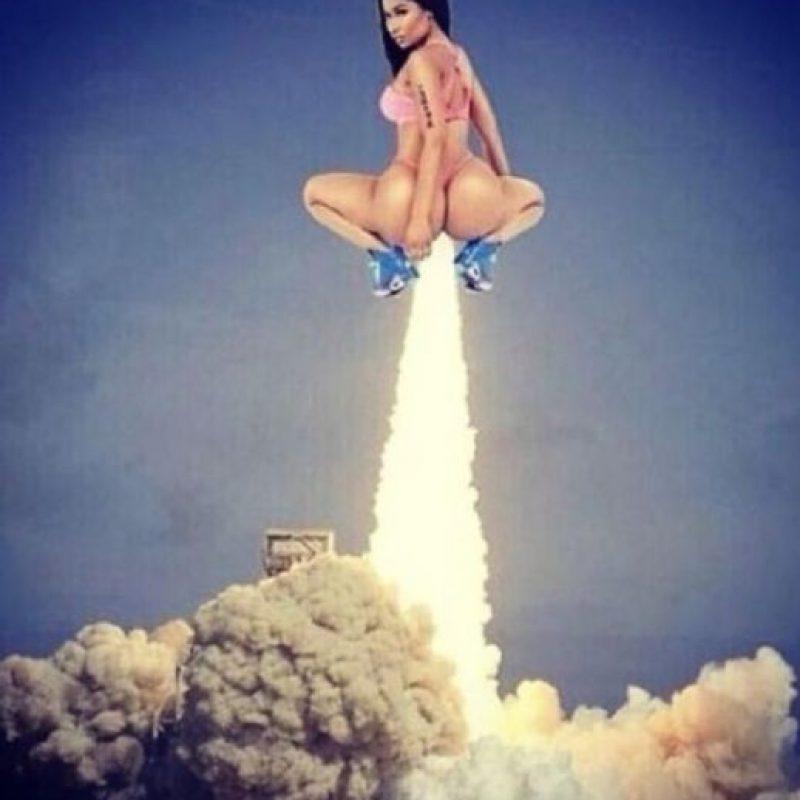 "Nicki Minaj y ""Anaconda"" causaron sensación Foto:Twitter"