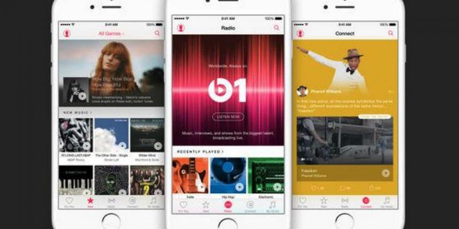 Una de las características más llamativas fue la posibilidad de contacto entre los músicos y sus fans mediante Apple Music. Foto:Apple