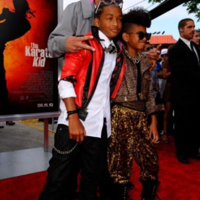 Pero no es rapero como su padre. Foto:vía Getty Images