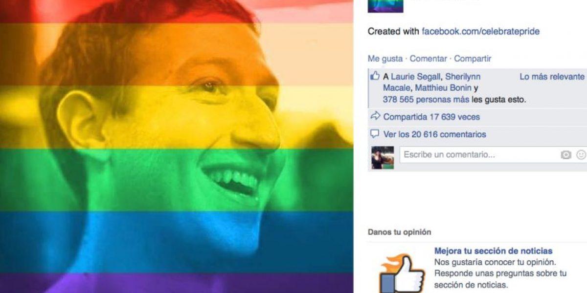 Facebook muestra su apoyo al matrimonio gay con esta herramienta