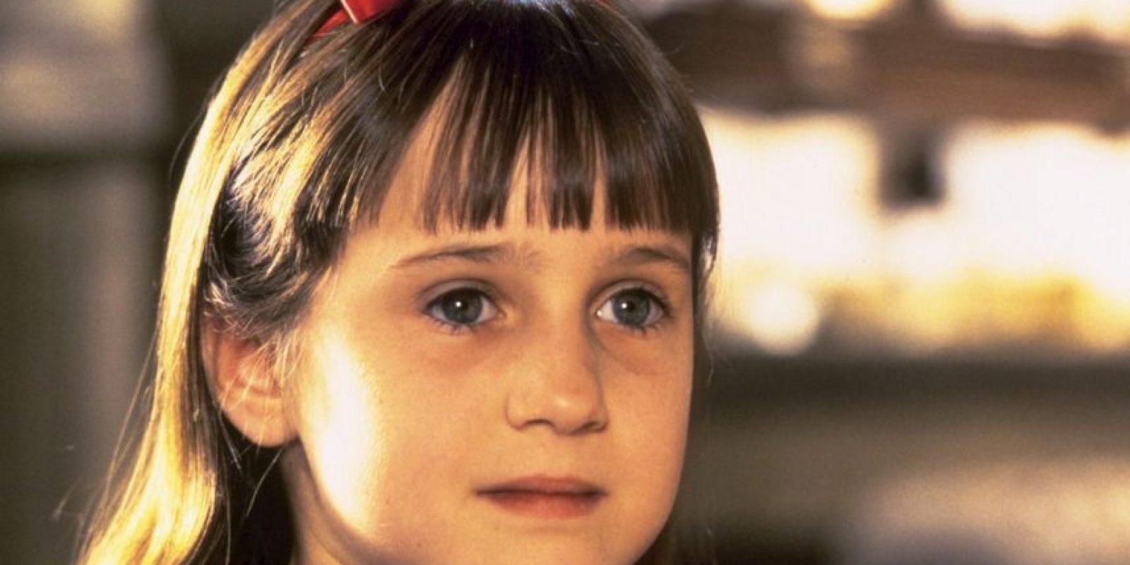 """""""Matilda"""" es una comedia infantil que los que fueron niños en los 90 todavía recuerdan con nostalgia. Por esa razón, les traemos varios datos curiosos del libro y la película. Foto:vía TriStar"""