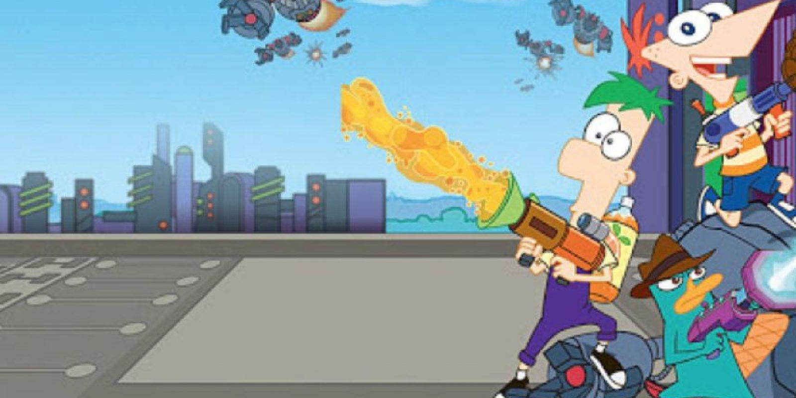 1. Los creadores del show, Dan Povenmire y Jeff Marsh son los que le dieron la voz al Dr. Doofenshmirtz y al Dr. Monogram. Foto:vía Disney