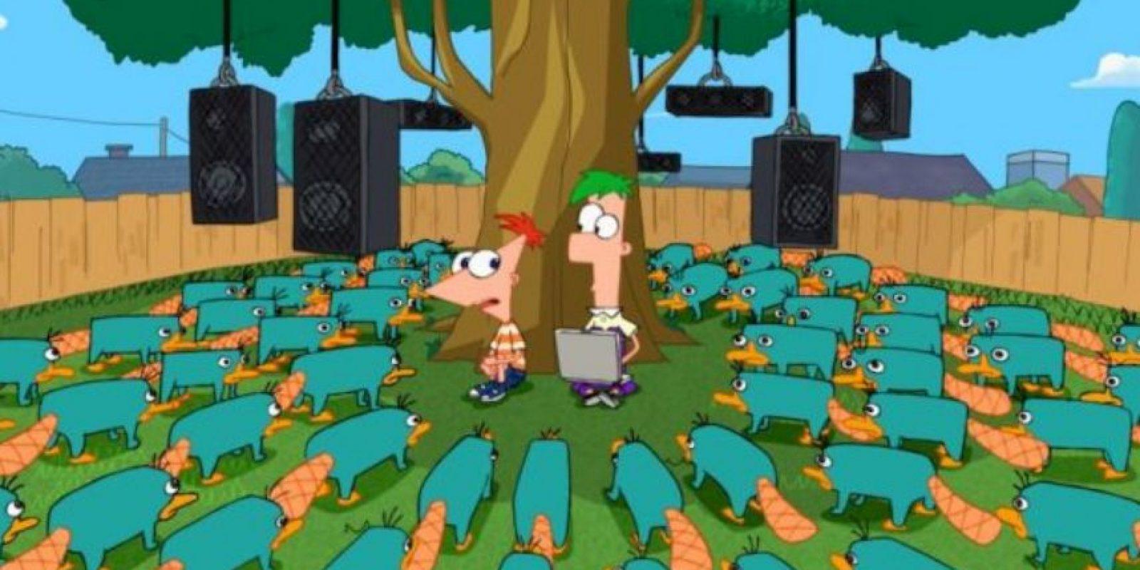 """19. Intentaron escribir la serie de la misma forma que """"Los Simpson"""", con el mismo diálogo, ritmo y estilo. Foto:vía Disney"""