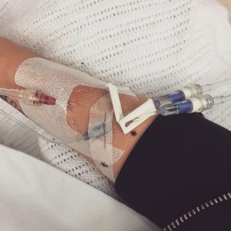 """""""Tengo mucho dolor. Ser humano apesta cuando tu cuerpo te dice NO. Estoy haciendo lo mejor para no dejarme vencer"""". Foto:vía Instagram/Jessie J"""