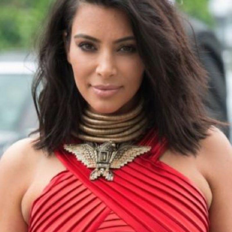 Kim Kardashian: la socialité padece psoriasis. Foto:vía Getty Images