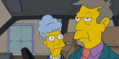 Él reemplazó al verdadero Skinner en la guerra. Agnes lo aceptó, ya que para ella hubiese sido traumático perder a su único hijo. Foto:vía Fox