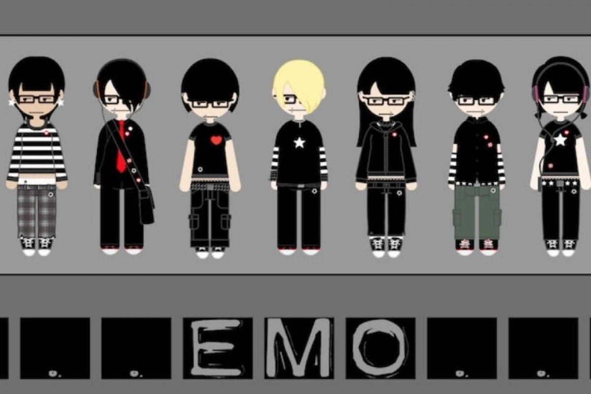 """4. Ser """"emo"""" va más allá de ponerse triste y ser tonto. Foto:vía Tumblr"""