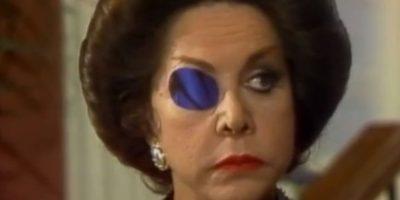 """""""Catalina Creel"""", la perversa y poderosa villana de """"Cuna de Lobos"""" (1986). Foto:vía El Canal de las Estrellas"""