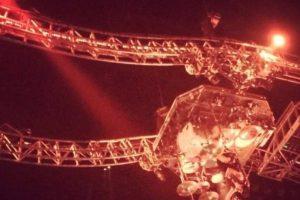 8. En esta estructura, Tommy Lee realiza giros de 180 grados Foto:Vía Facebook/MotleyCrue