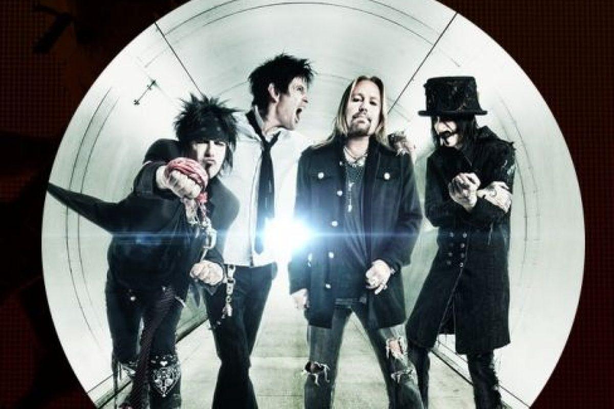 La banda tuvo un gran éxito en la década de 1980 por ser uno de los exponentes más grandes del glam metal Foto:Vía Facebook/MotleyCrue