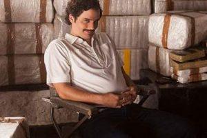 """Pablo Escobar en """"Narcos"""" Foto:Netflix"""