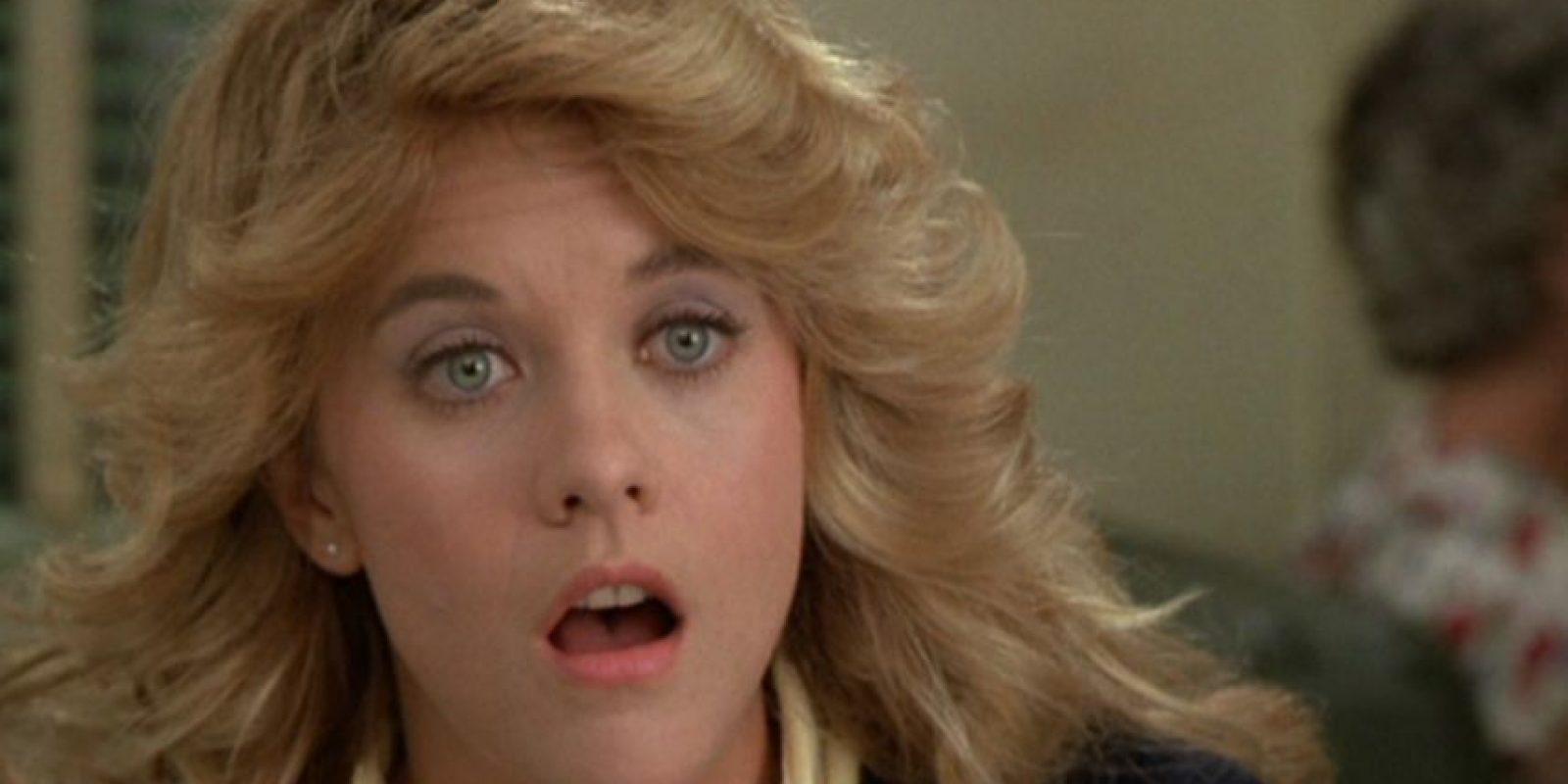 """Meg Ryan era la """"Novia de América"""" apenas se acababan los ochenta y comenzaba la década de los años 90. Foto:vía Tumblr"""