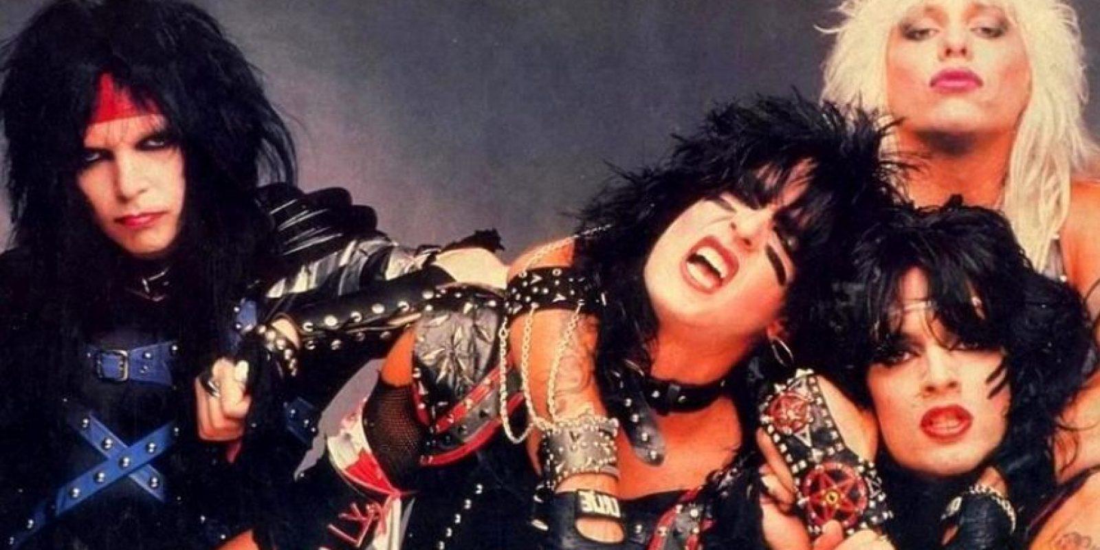 Mötley Crüe es una banda estadounidense de Glam Metal formada en enero de 1981 Foto:Pinterest