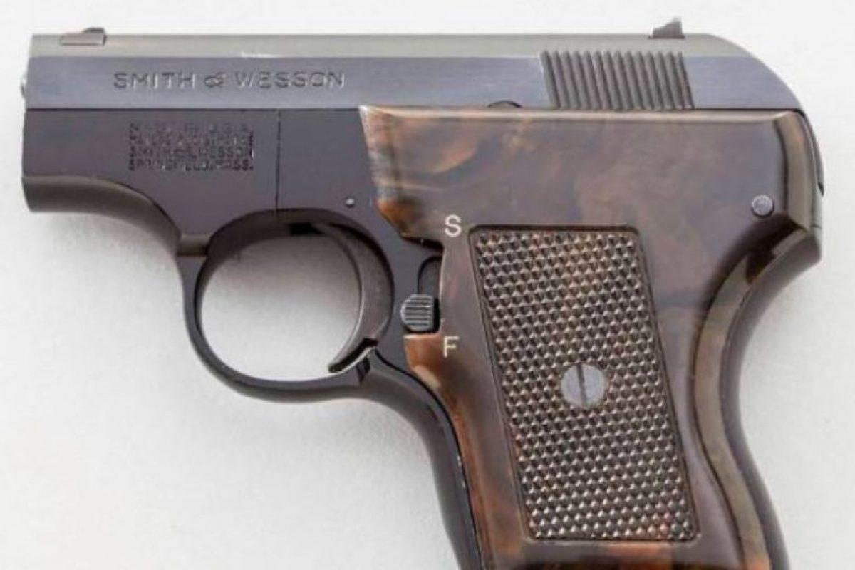 Esta es la pistola calibre 22 que guardba en su vagina. Foto:Waco Police Departament