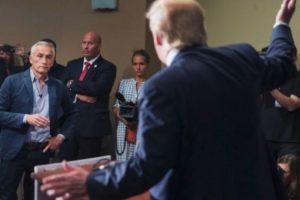 Fue expulsado por Trump de una de sus conferencias Foto:AP