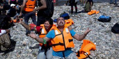 La mayor parte de ellos ha llegado a Turquía, Grecia e Italia. Foto:vía AFP